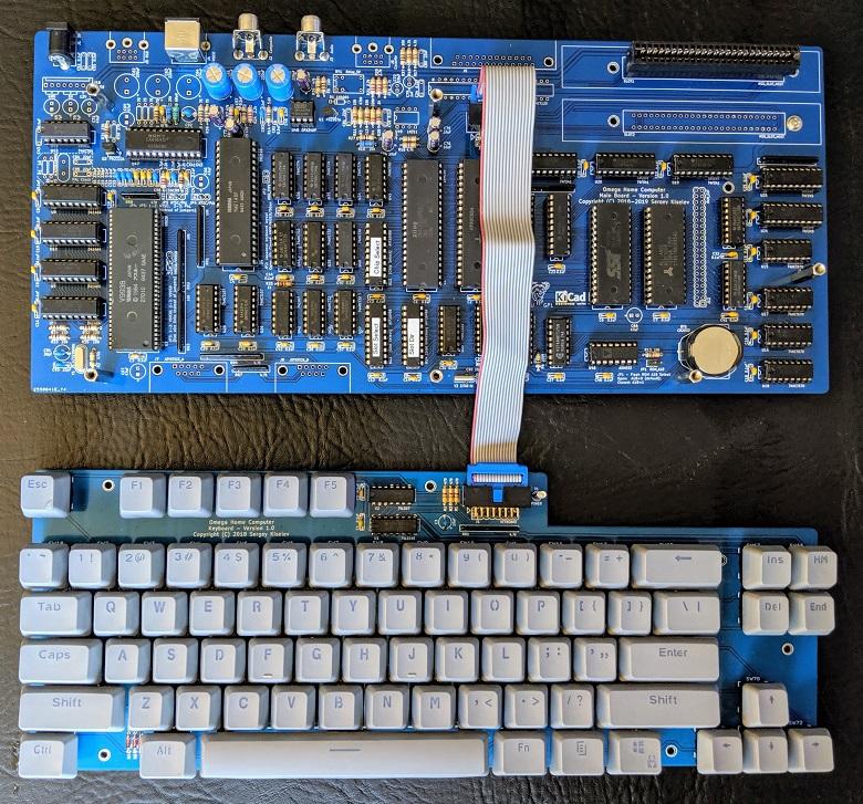 Nombre:  PCB-y-teclado-Omega-v1.0.jpg Visitas: 661 Tamaño: 335.8 KB