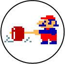 Nombre:  chapa_arcade_classics_donkey_kong_jumpman.jpg Visitas: 32 Tamaño: 6.3 KB